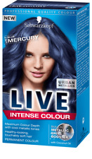 6 X Schwarzkopf Live colore intenso URBAN Colori Metallici U67 BLU MERCURIO permanente