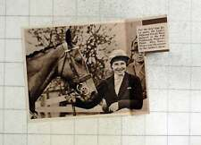 1939 Miss Nancy Brown Wins Fife Foxhounds Point-to-point