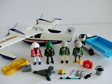 Playmobil Seaplane & ZOO Keepers voiture