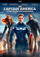 Captain America: The Winter Soldier (DVD, 2014)  free shipping !!!!