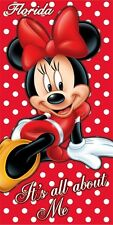 "Disney mine mouse  100% Cotton Beach Towel 30"" x 60"""