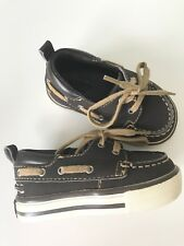 Gap Brown Boat Toddler Shoes Size 5