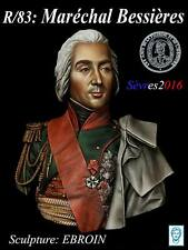 Alexandros Models Napoleonic Marshall Bessieres Resin Bust 1/10th Unpainted Kit