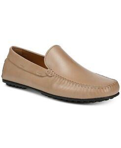 Donald Pliner Santos Whip-Stitch Beige Men SZ 12M Loafers & Slip Ons SAND Shoes