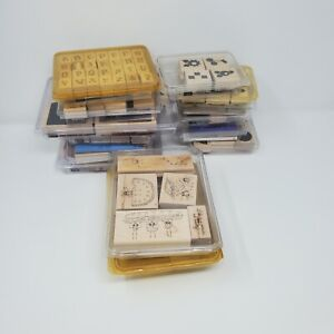 Lot of 15 Stampin Up Sets ~ Mixed Occasions and Holidays ~ Many Retired LOOK