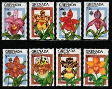 Grenada-G.   1990   Sc #1144-51   Orchids   MNH   (54209)