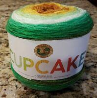 Lion Brand Cupcake Yarn Peas and Carrots