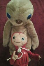 Vintage E. T.  Extra Terrestrial Plush Doll Lot Of 2