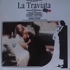 "12"" DLP Soundtrack James Levine La Traviata (Placido Domingo, Teresa Stratas)"