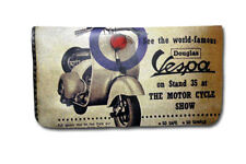 Tobacco Case Pouch Synthetic Leather Wallet Bag Rolling Vespa Target Piaggio