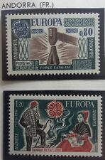 2 X Timbre Stamp Andorre Andorra 1975 YT 253 254 EUROPA CEPT Neufs