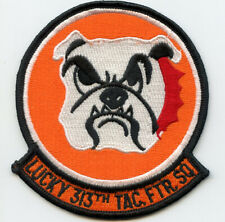 Usaf 313th Tactical Fighter Squadron Patch