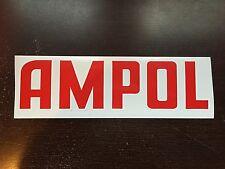Ampol Text -adhesive vinyl decal for petrol bowser Gilbarco CM or Wayne Bullseye