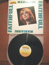 MARIANNE FAITHFULL- LP- compilation 10 trks Curcio-gatefold- booklet 14 pg-Italy