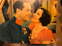 The Smiling Lieutenant 1931 Paramount lobbycard Claudette Colbert Maurice Cheval