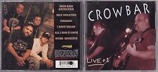 CROWBAR - LIVE + 1 CD 1994 PAVEMENT PROMO METAL