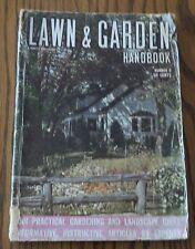 VINTAGE LAWN & GARDEN HANDBOOK FROM 1942.