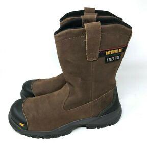 NEW Caterpillar Men Spur Steel Toe Work Boot Size 11.5 No Box Model P90204