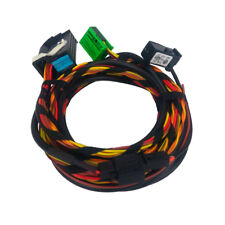 Wiring Harness + Microphone for 1k8035730D VW Bluetooth Module for  RNS510