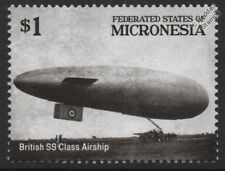 WWI British SS Class (Submarine Sea Scout) Airship / Blimp Stamp