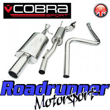 "FD38 Cobra Sport Ford Fiesta MK6 Zetec S Exhaust System 2"" Cat Back - Resonated"