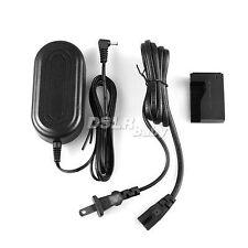 AC Power Adapter For Canon EOS 100D DSLR + Coupler Rebel SL1 Kiss X7 As ACK-E15