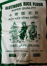 3 X BAG OF GLUTINOUS RICE FLOUR  16 OZ  (3 Lady  BRAND)  Free Shipping!!