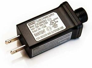 Class 2 Power Supply UL-Listed US Plug Power Adapter for Most Chrismas Trees LED