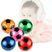 5 Pcs PVC Soccer 9 Inch Cute Thick Inflatable Football Toys Balls for Girls Boys