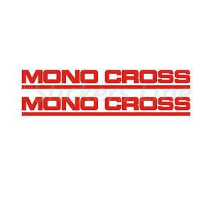 Adesivi MONOCROSS forcella TENERE 600 forcellone YAMAHA Tenerè XT600 Z 3AJ 1988