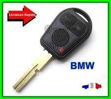 Coque Télécommande Plip Clé 3 Boutons BMW E36, E38, E39, M3, M5 + Lame Vierge