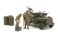 Tamiya 1/35 BRITISH SAS COMMANDO VEHICLE 1944 Model Kit #25152 Factory Sealed