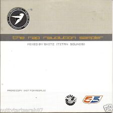RAP REVOLUTION SAMPLER - Mixed By SKITZ PROMO Titan 17 Track (CD ) RARE MINT