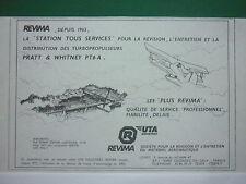 8/1986 PUB REVIMA UTA CAUDEBEC-EN-CAUX PONT BROTONNE PRATT WHITNEY PT6A AD