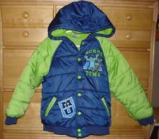 Boys DISNEY ~ MONSTERS INC. Monsters University Winter Coat Jacket Sz 5/6