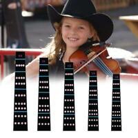 5Models Violin Scale Fingerboard Anfänger Hinweis Leitfaden Aufkleber