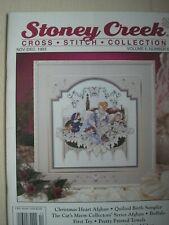Stoney Creek Magazine Vol 5 Number 6 Nov / Dec 1993 Counted Cross Stitch Pattern