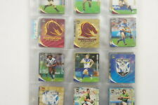 2010 Rugby League Footy Frames set of 80 tazos