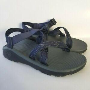 Chaco ZCloud Z Cloud Mens Sandals Size 12 Aero Blue Printed Sport Adjust J105969