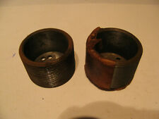 Lot of 2 Vintage Machinist Die Cast Rounds of some type. No reserve