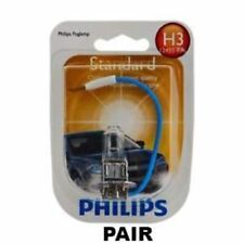 2x Philips H3 Rally Vision Essential Power 12V 100W Halogen Globe Light Bulb