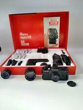 PENTAX AUTO 110 3-LENS KIT, 18mm, 24mm, 50mm, WINDER, FLASH, FILTERS