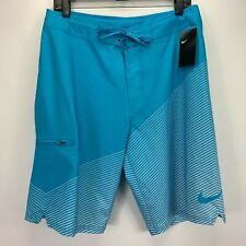 Nike Mens Jackknife 22'' Colorblocked Board Shorts Lt Blue 34