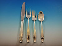 Stradivari by Wallace Sterling Silver Flatware Set for 12 Service 48 pieces