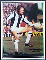 FOOTBALL PLAYER PICTURE GARY OWEN WEST BROMWICH ALBION SHOOT