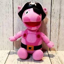 The Backyardigans Sing and Explore Pirate Uniqua Plush Toy Nick Jr Fisher Price