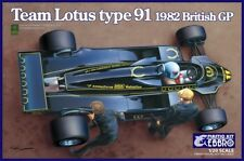 Ebbro 20012 - 1/20 Team Lotus Type 91 - 1982 British Gp - Neu