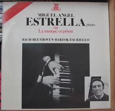 MIGUEL ANGEL  ESTRELLA LA MUSIQUE EN PRISON FRENCH LP ERATO 1979