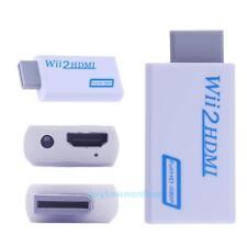 Nintendo Wii auf HDMI Adapter Konverter Stick Upskaler 720P 1080P 3.5mm Audio