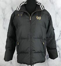 Bogner Active Womens Black Down Ski Jacket Black White Gold Sz 10